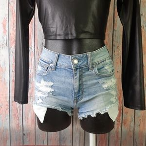 AMERICAN EAGLE Outfitters Mini Distressed Shorts